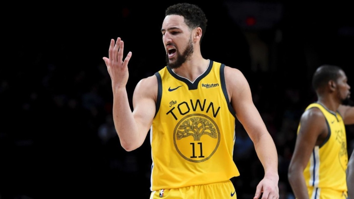 c838cead2 Klay Thompson Might Go To Los Angeles If The Lakers Trade For Anthony Davis  – Fadeaway World