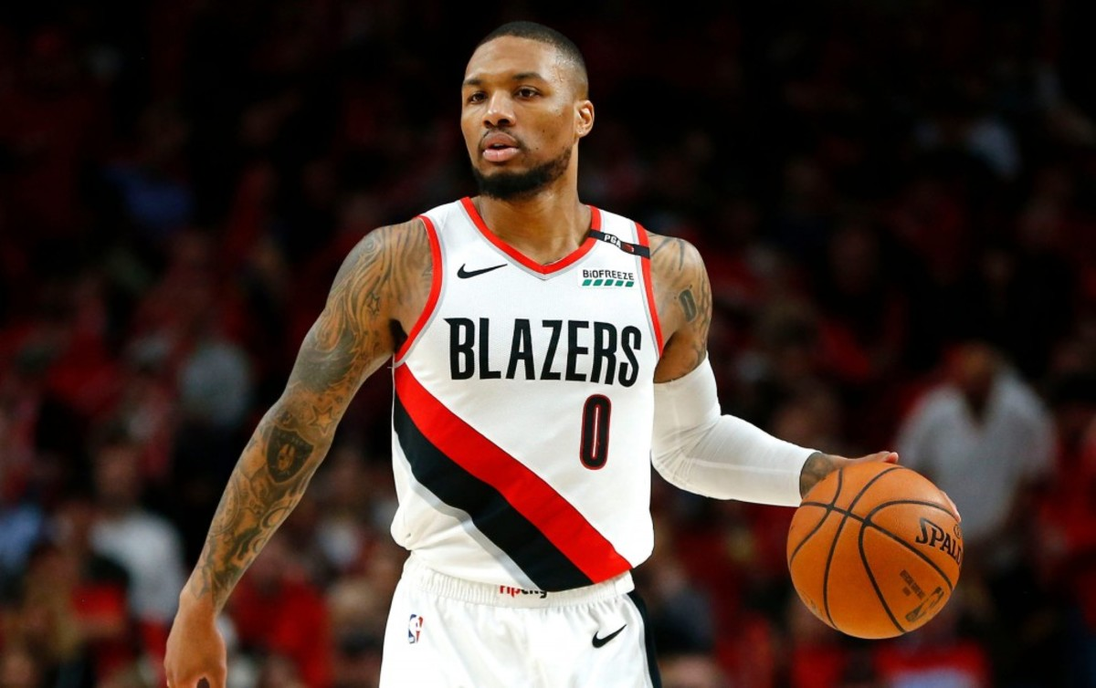 Damian Lillard Says He's Not Playing In The Olympics If The Trail Blazers Makes The NBA Finals