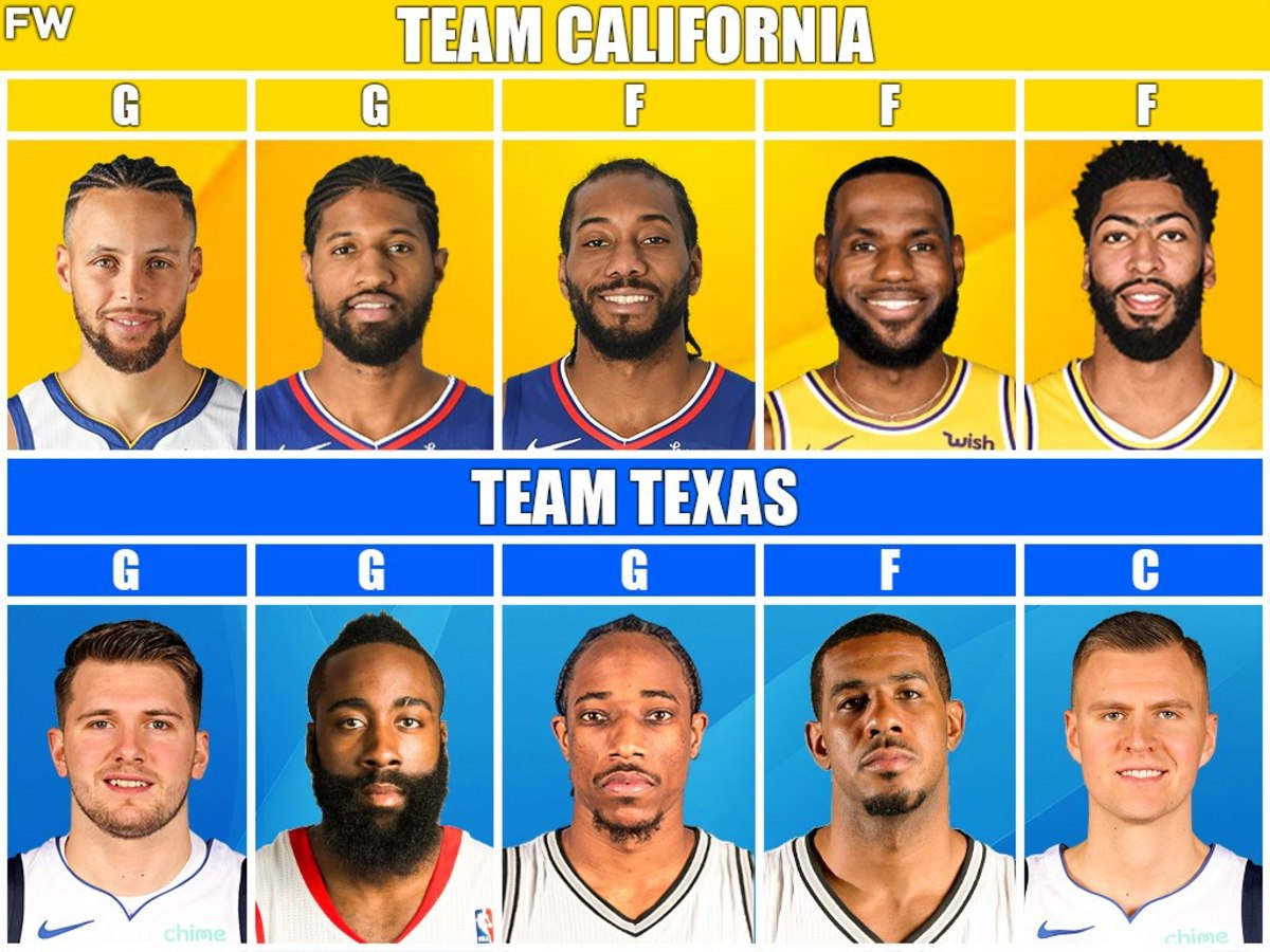 The Game Everyone Wants To Watch: Team California vs. Team Texas