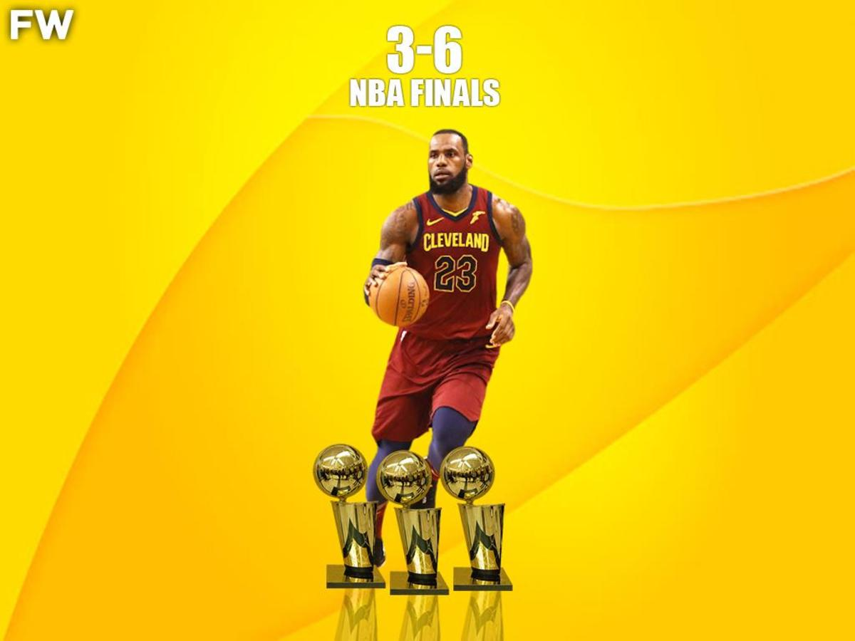 LeBron James 3-6 NBA Finals