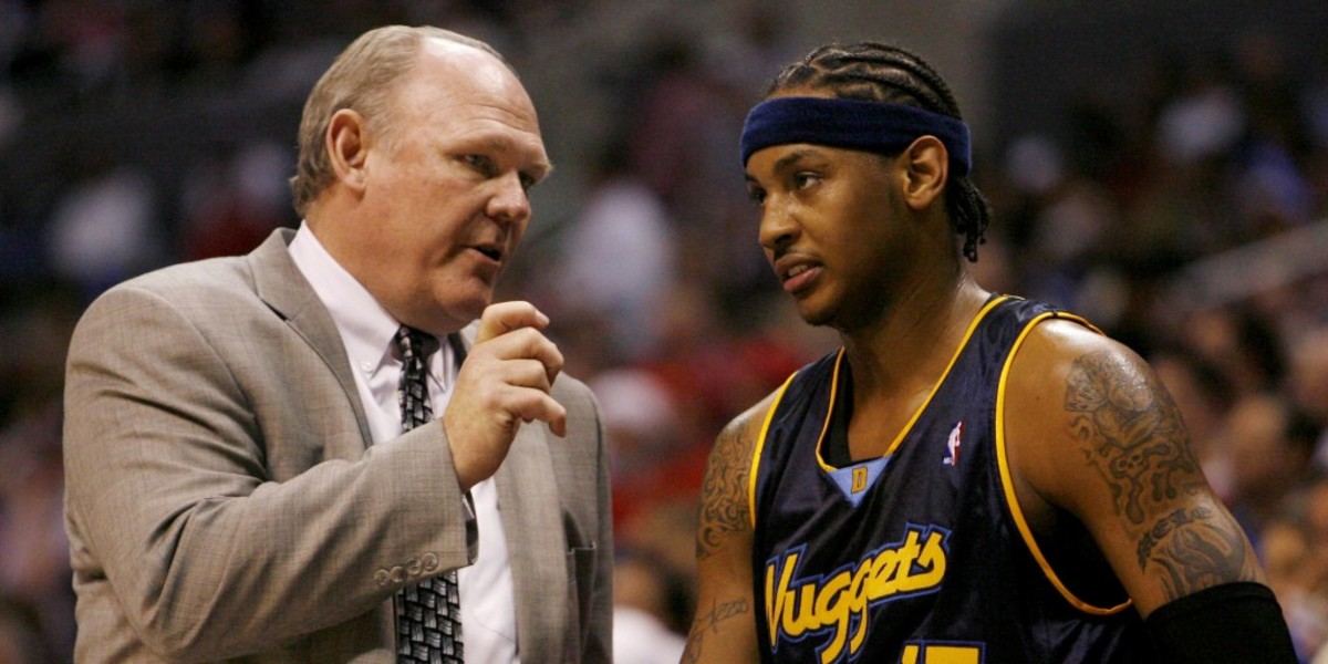 """George Karl Calls Out Carmelo Anthony After His Comments About A Championship Keeping Him Up At Night: """"And It Kept Our Coaching Staff Pp At Night A Decade Ago When We Were Stressing The Importance Of Team Play And Defense!"""""""