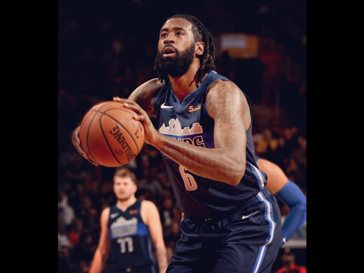 Image result for deandre jordan free throw