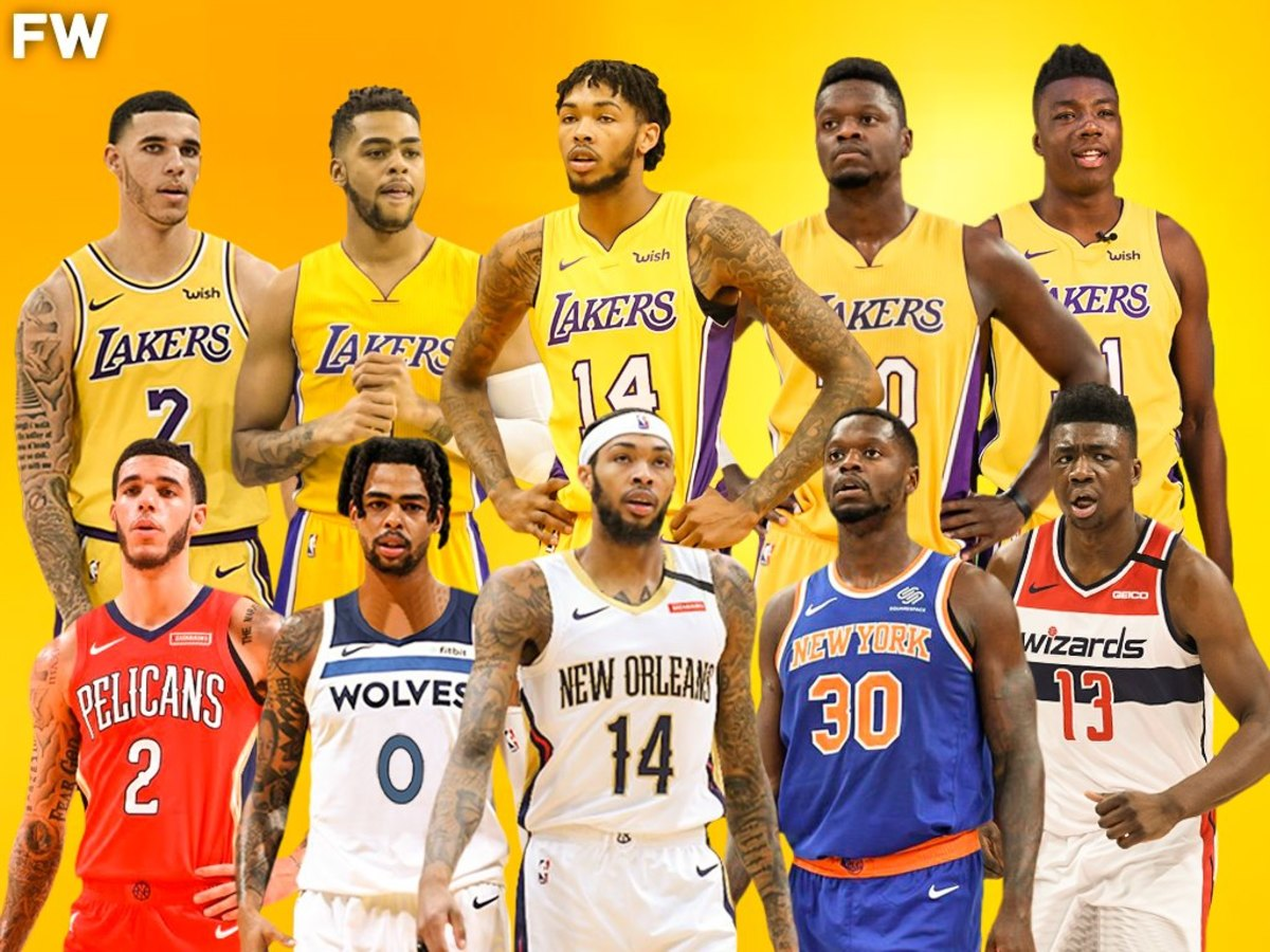 Former Los Angeles Lakers Young Core Are On Fire This Season