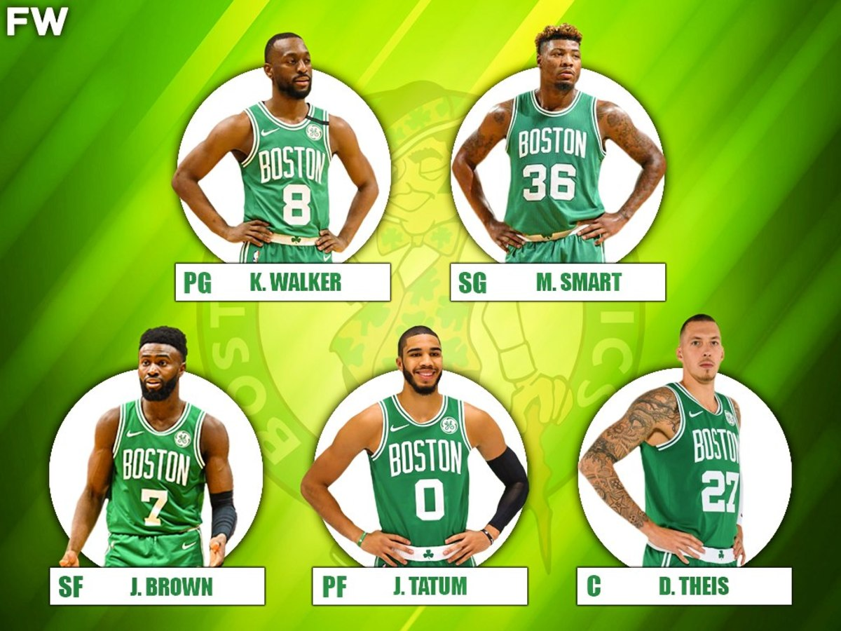 The 2020-21 Projected Starting Lineup For The Boston Celtics
