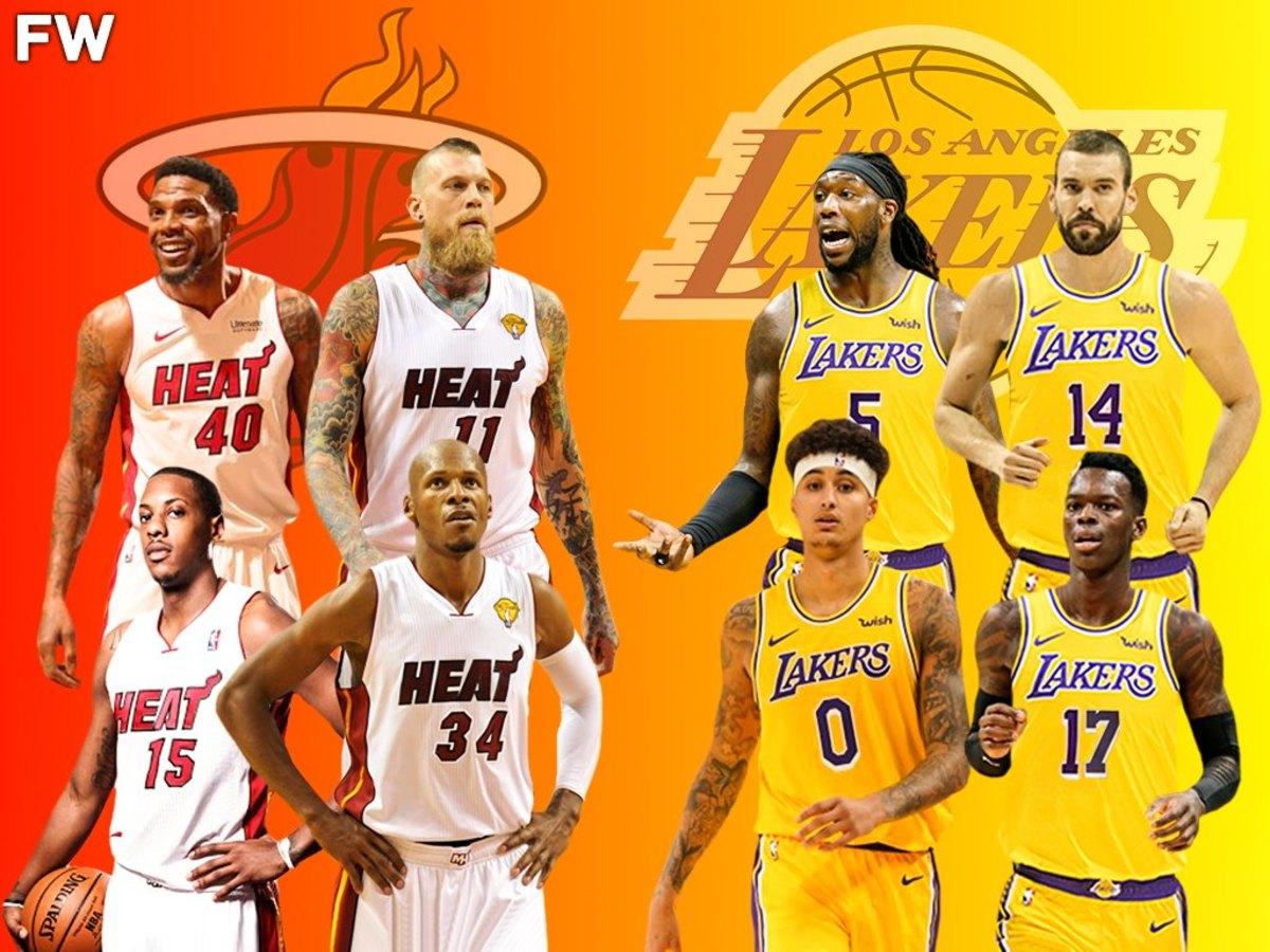 Key Players 2013 Miami Heat vs. 2021 Lakers