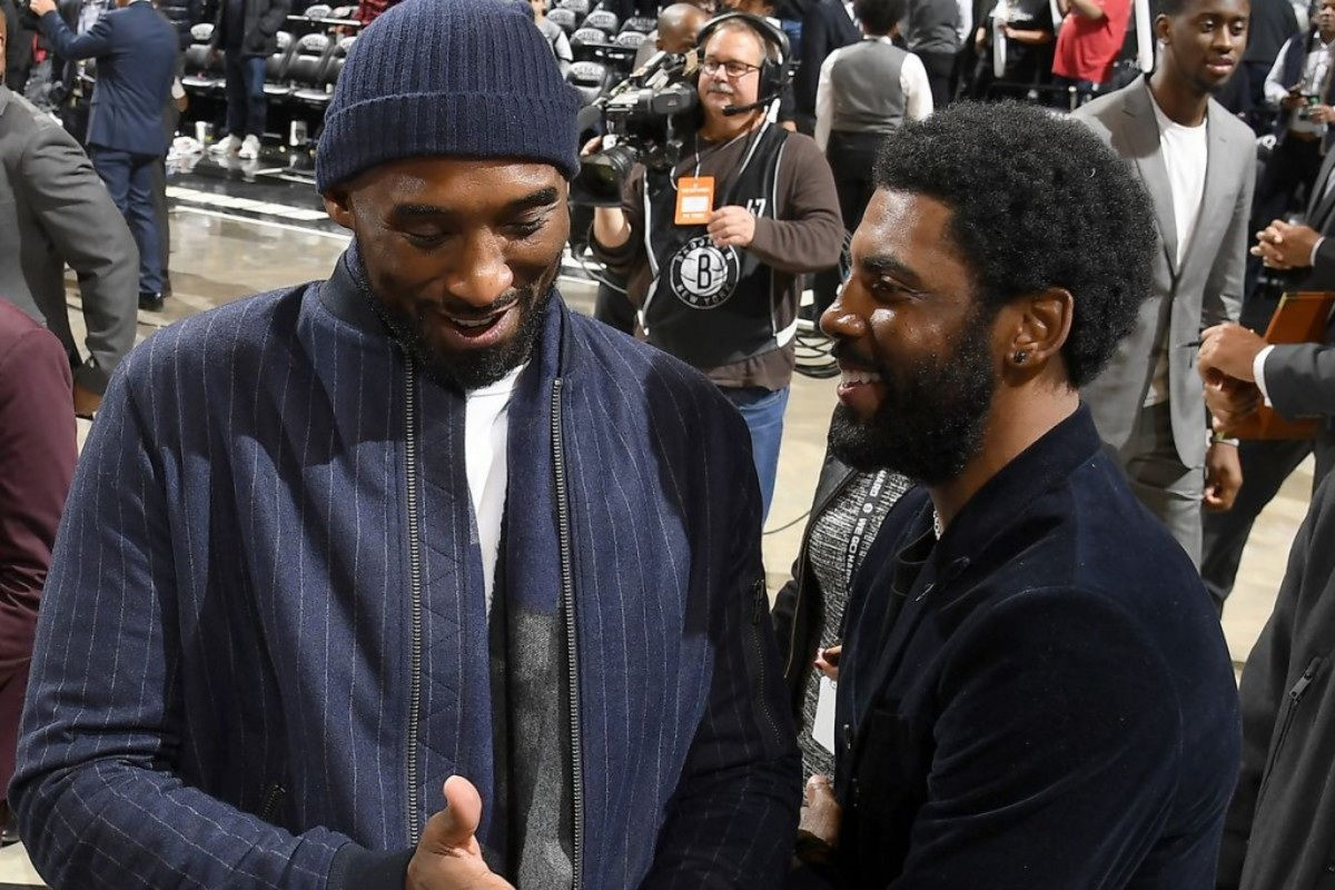 Kyrie Irving Gives Emotional Interview About Kobe Bryant