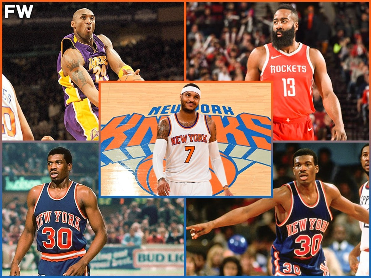NBA Players With The Most Points Scored In A Game At The Madison Square Garden