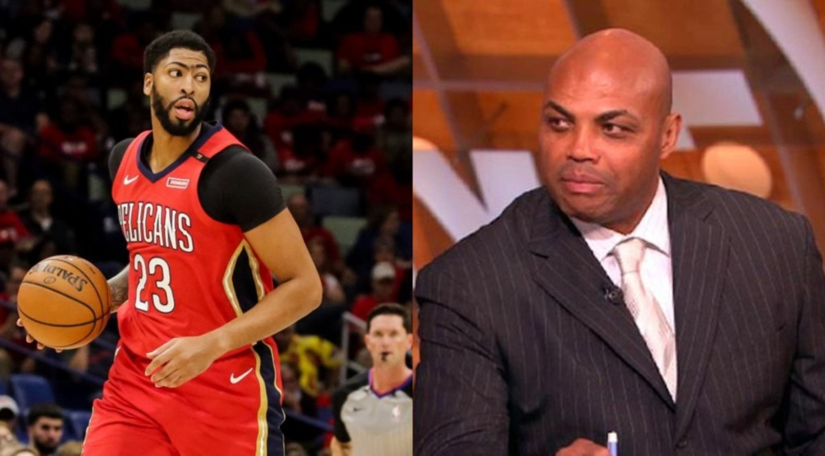 Charles Barkley Wants Adam Silver To Block Potential Anthony Davis Trade To Lakers