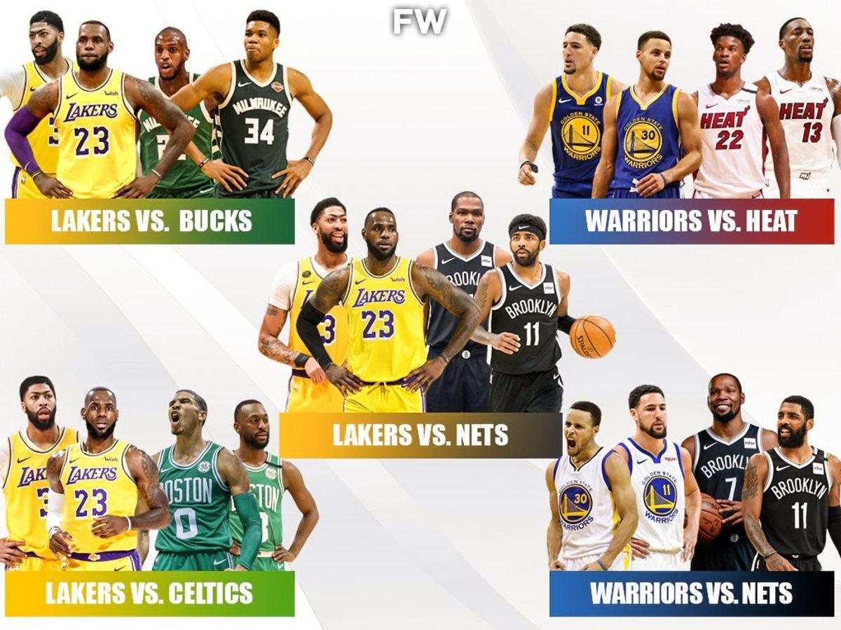5 NBA Finals We Want To See Next Season: Los Angeles Lakers vs. Brooklyn Nets (No. 1)