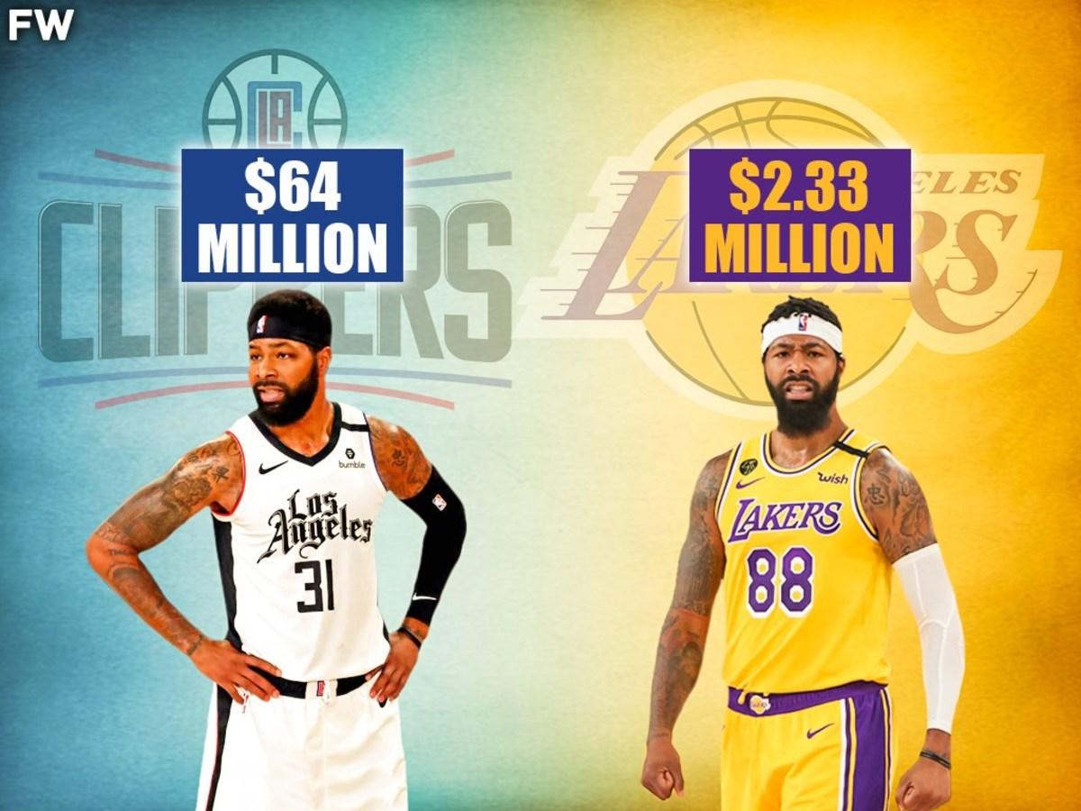 Clippers Pay Marcus Morris $64M Guaranteed For 4 Years. Lakers Pay Markieff Morris The Veteran Minimum.