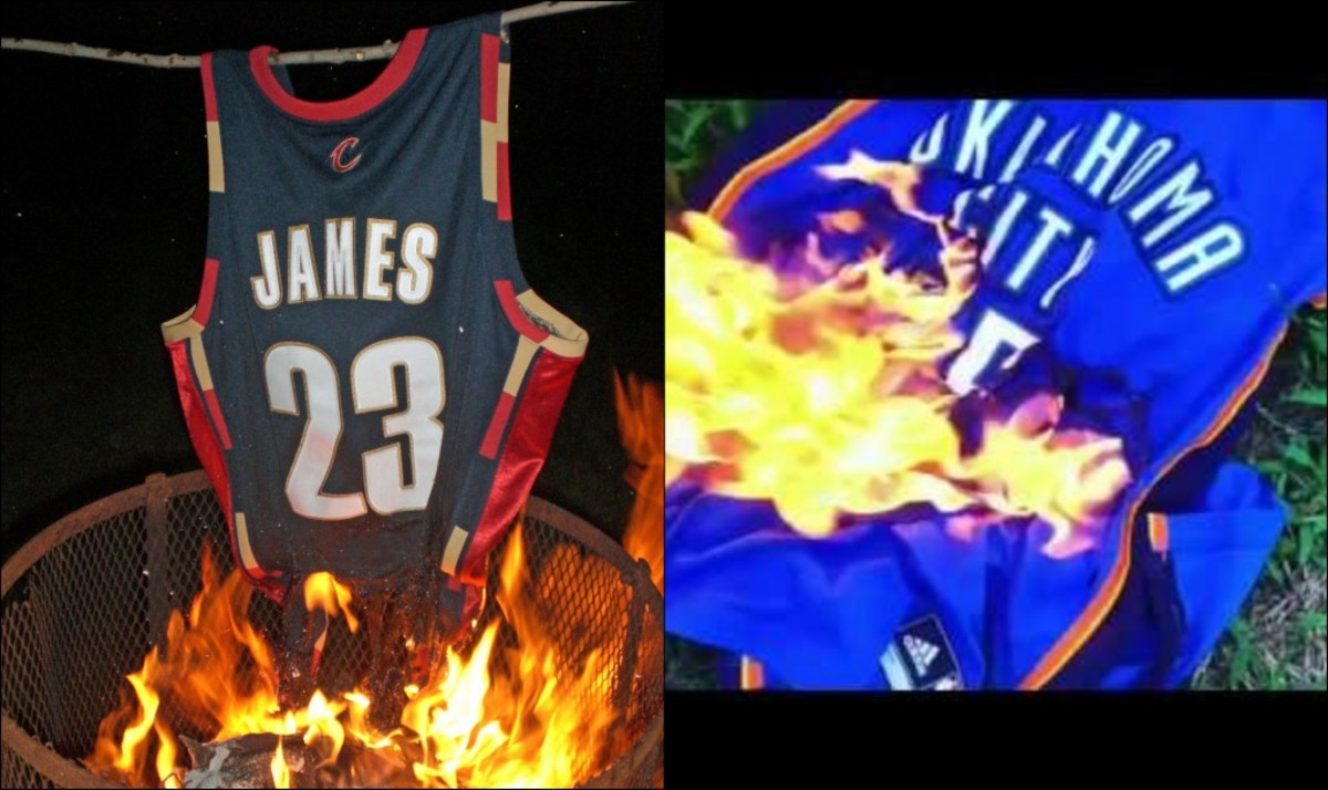 6 NBA Players Whose Jerseys Were Burned By Fans