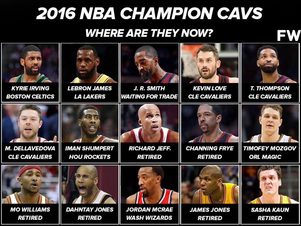 2016 NBA Champion Cavs: Where Are They Now?