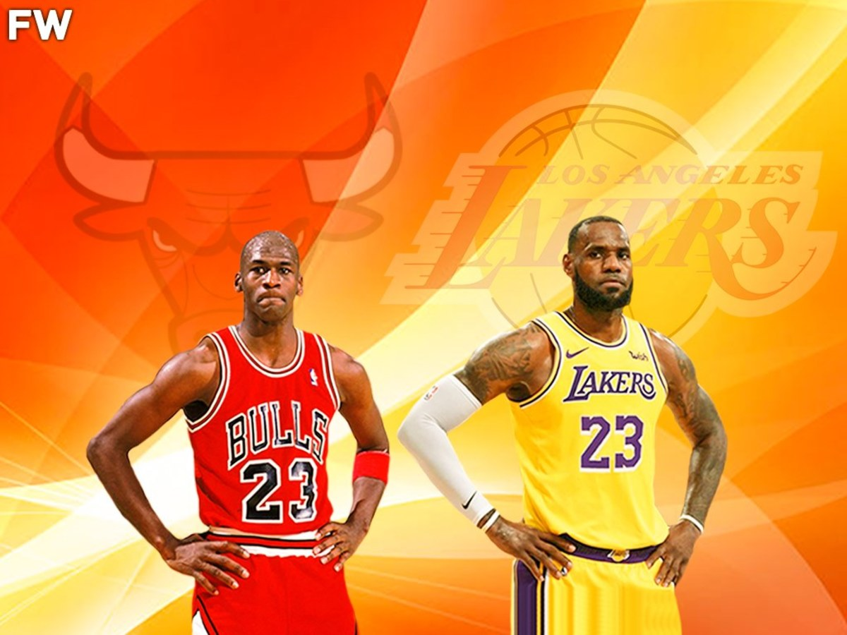 Ray Allen On GOAT Debate: 'M.J. Is The GOAT. LeBron Is A Product Of M.J., So A Lot Of What's In LeBron -- In His DNA -- Comes From Michael.'