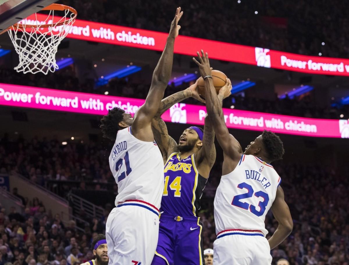Lakers vs Sixers