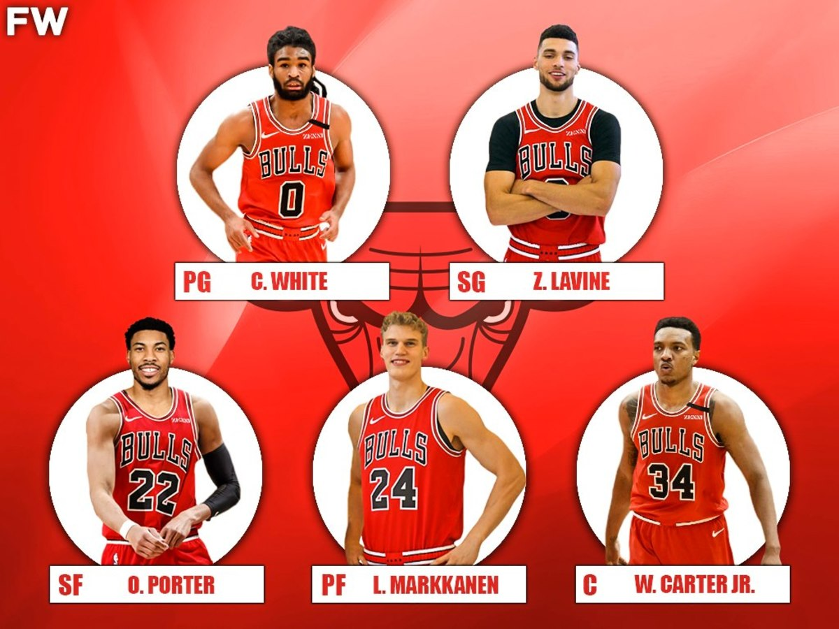 The 2020-21 Projected Starting Lineup For The Chicago Bulls