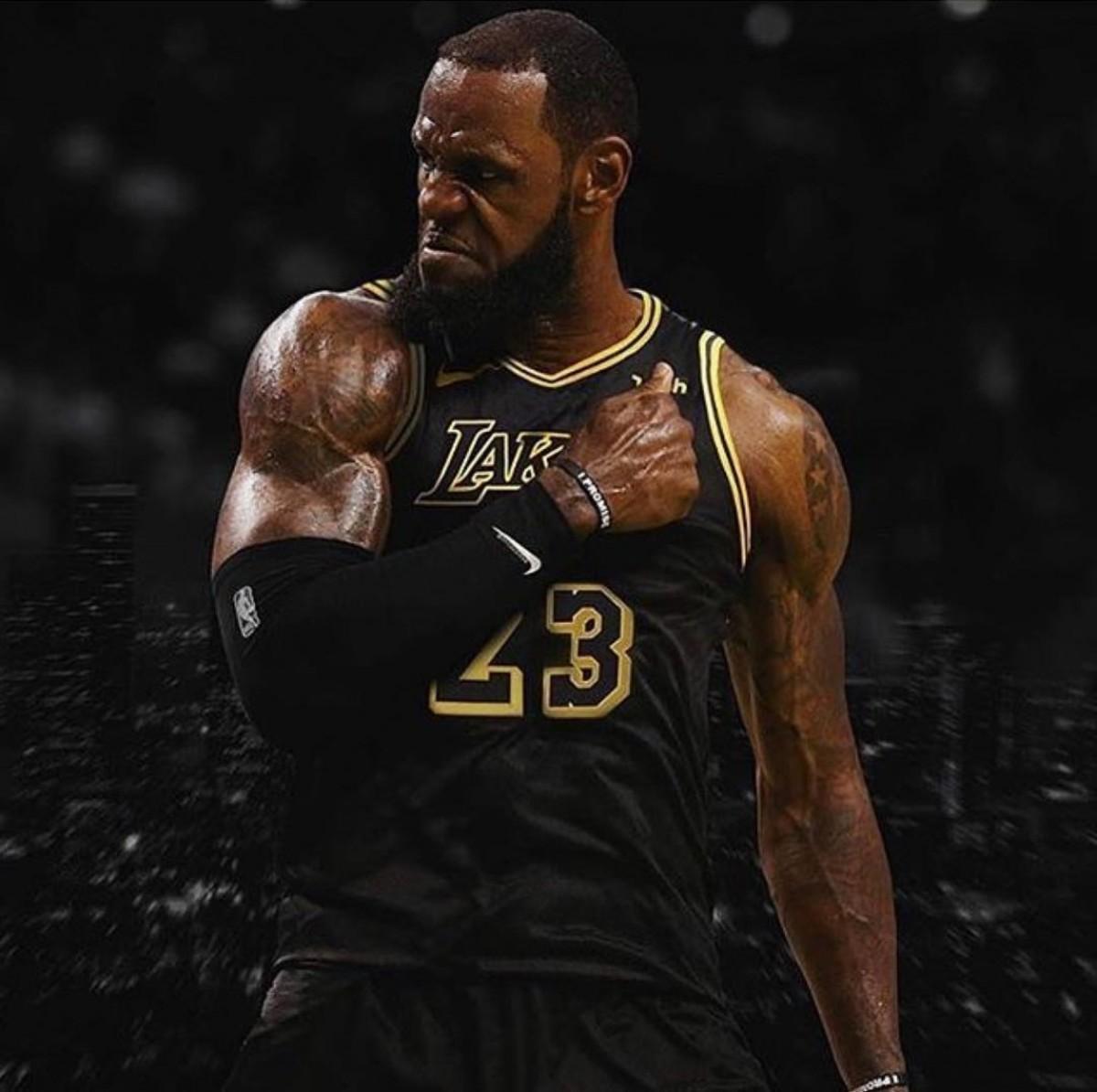 NBA Lakers LA LeBron James