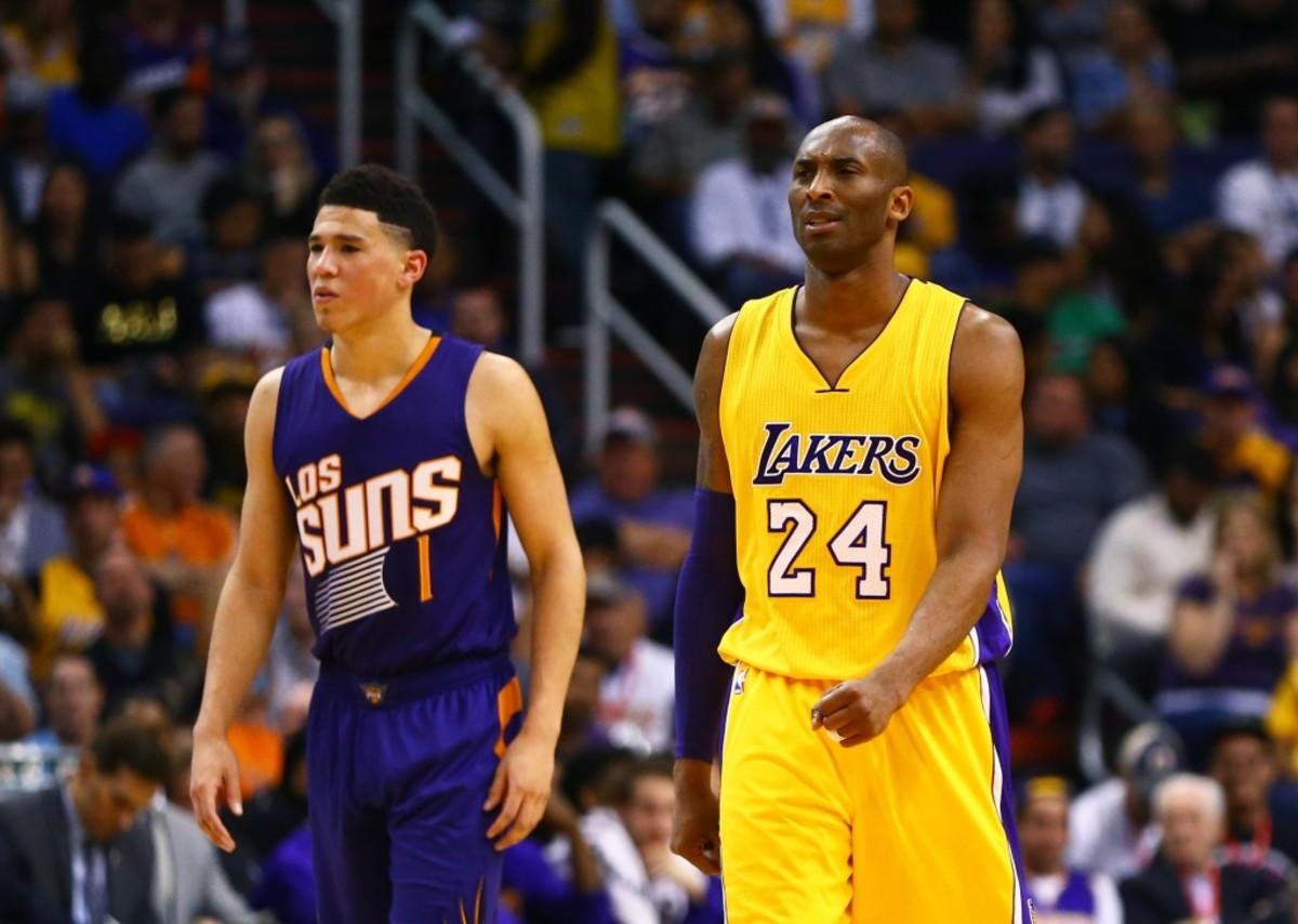 Devin Booker Kobe Bryant