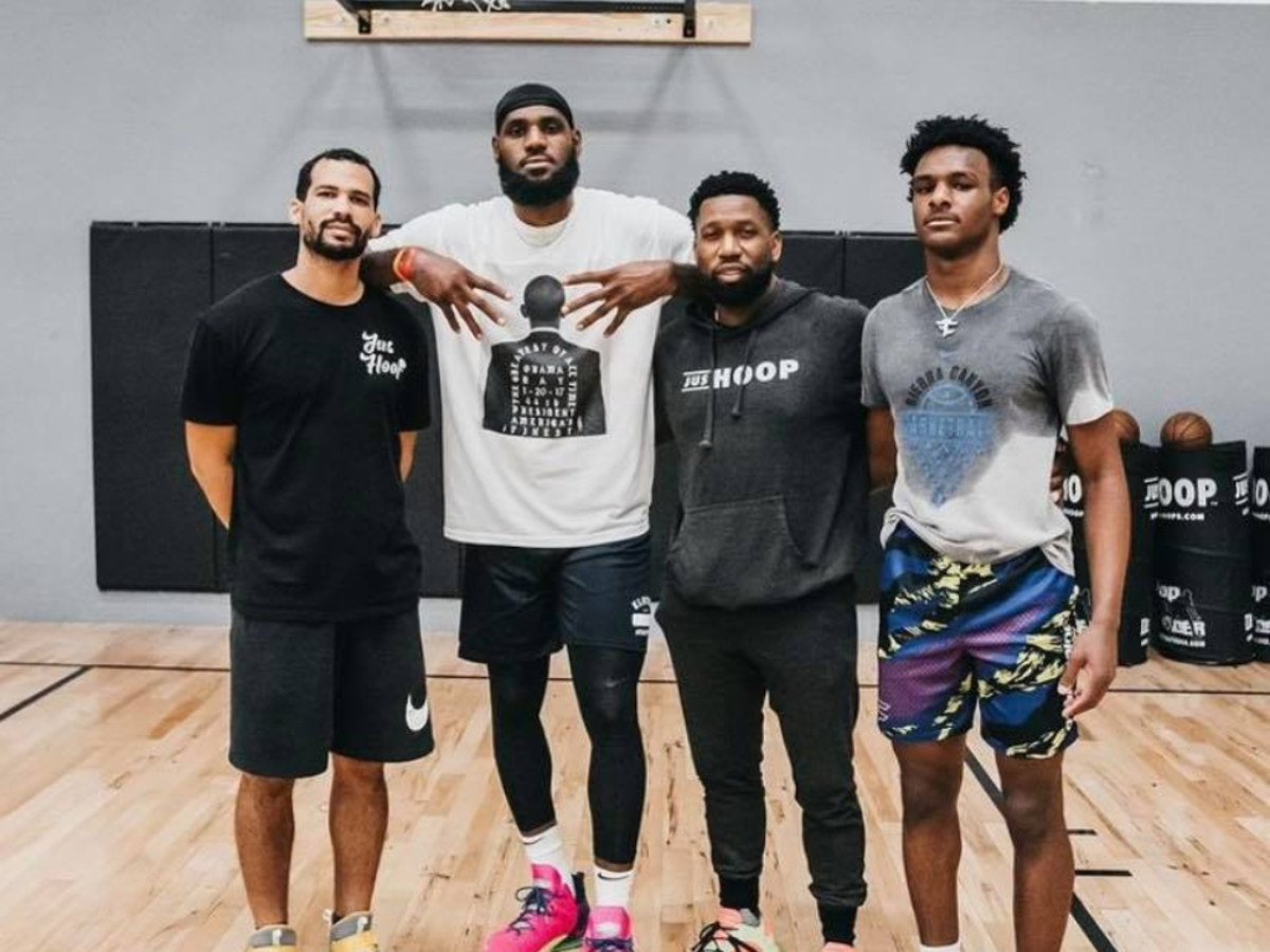 Bronny James' Incredible Growth Spurt: He Is Looking Almost As Tall As LeBron James In A Recent Pic