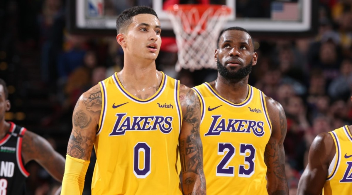 Kyle Kuzma's Trainer Calls Out LeBron James After Lakers Loss vs. Clippers