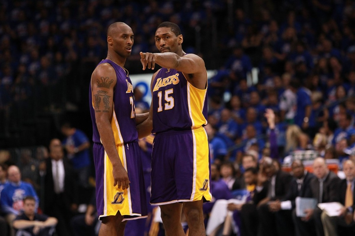 """Metta Sandiford-Artest Explains How Kobe Bryant Trusted Him To Take A Big Shot During Game 7 Of The 2010 NBA Finals: """"I Think He Knew I Wanted That Shot."""""""