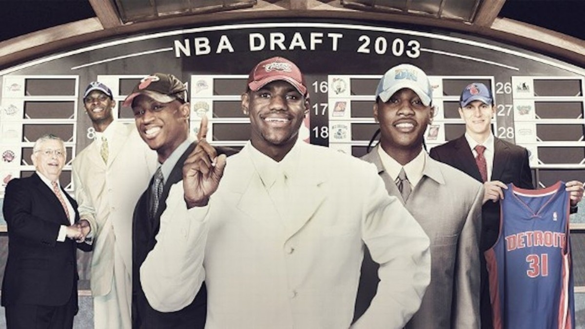 LeBron James Was Teammates With 9 Players From His Own 2003 NBA Draft Class