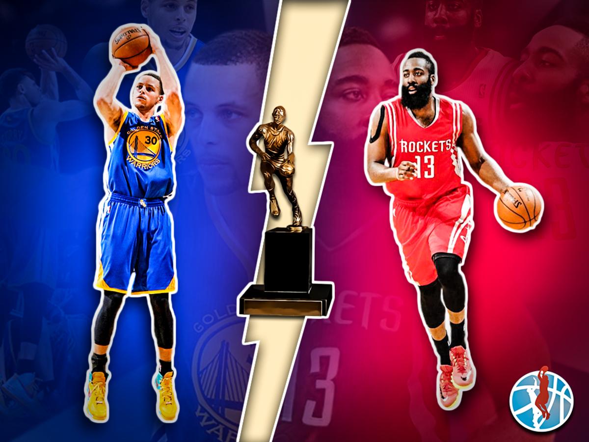 NBA MVP Race 2015: Steph Curry vs James Harden