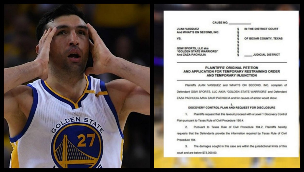 Business Owner File Lawsuit Against Zaza Pachulia because of Kawhi's injury