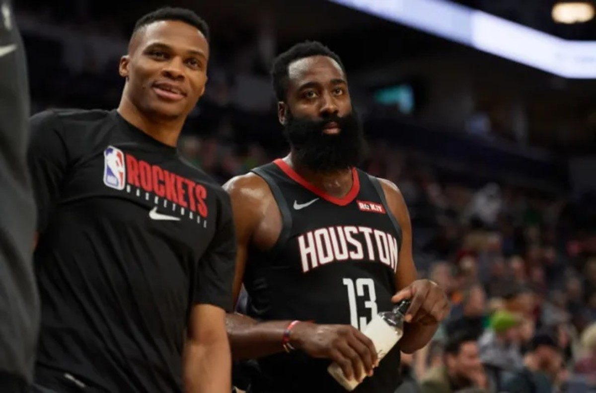 """James Harden Explains The Importance Of Russell Westbrook For The Rockets: """"We Just Need Him"""""""