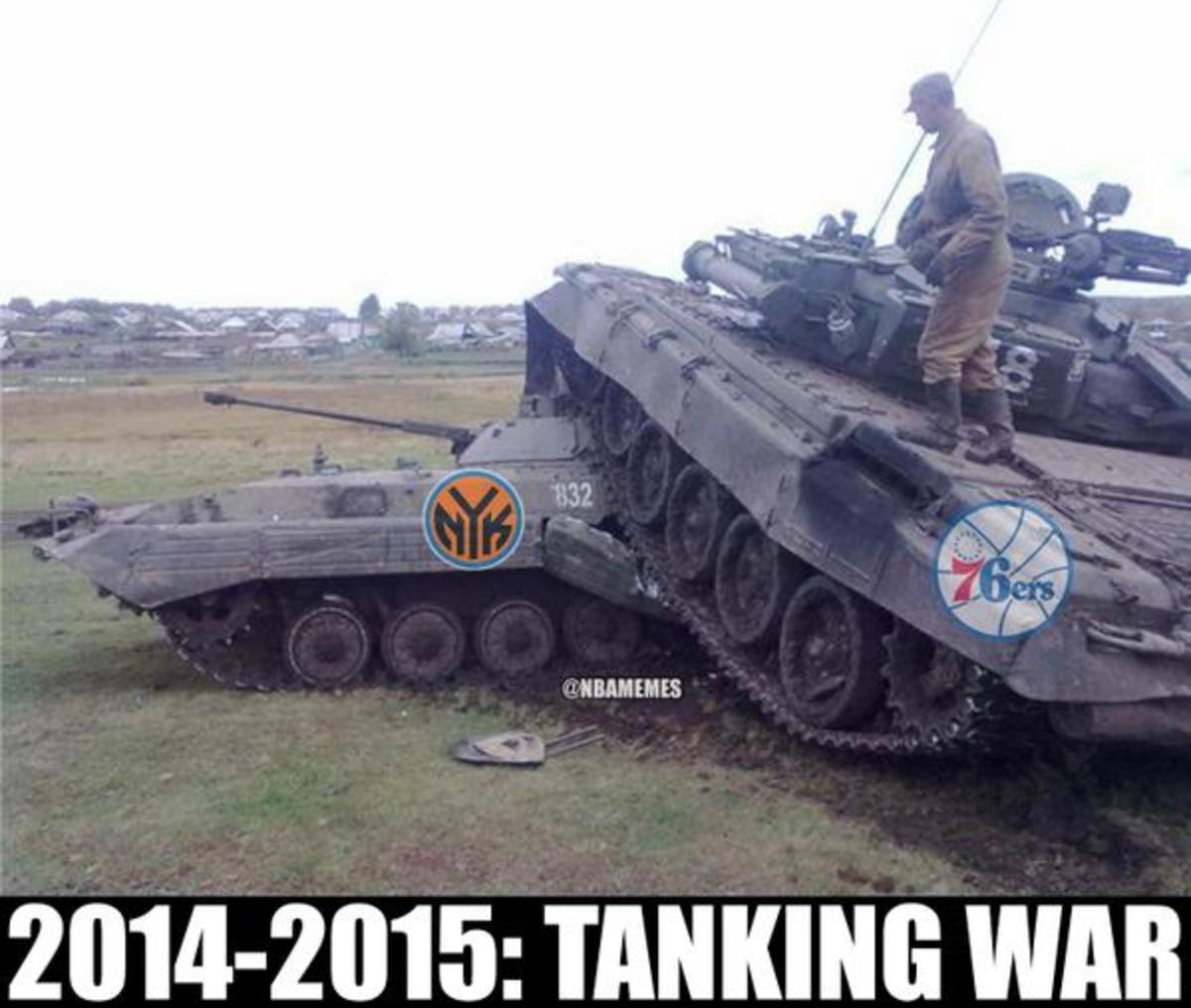 Tanking War
