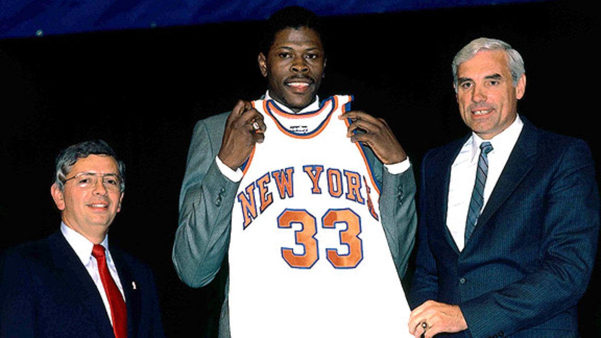 The Biggest Conspiracy About NBA Draft Lottery: Patrick Ewing