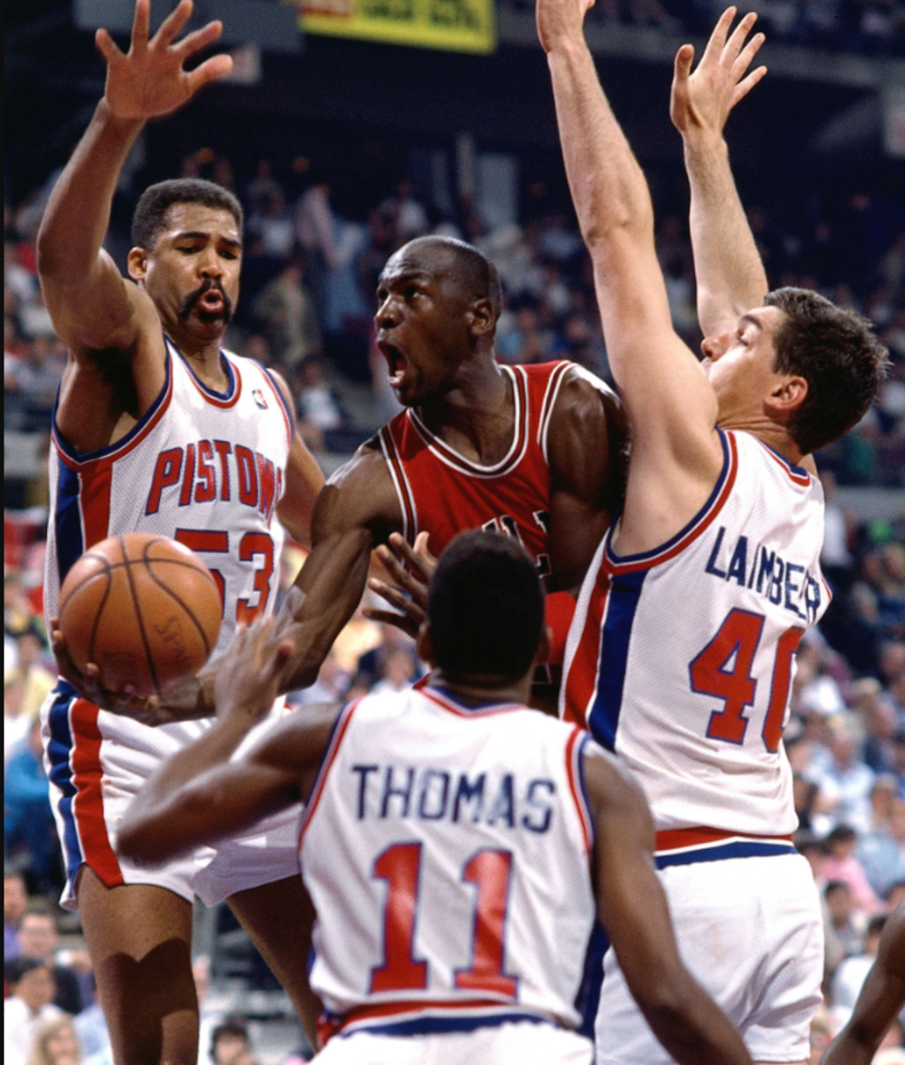 Michael Jordan vs. Pistons