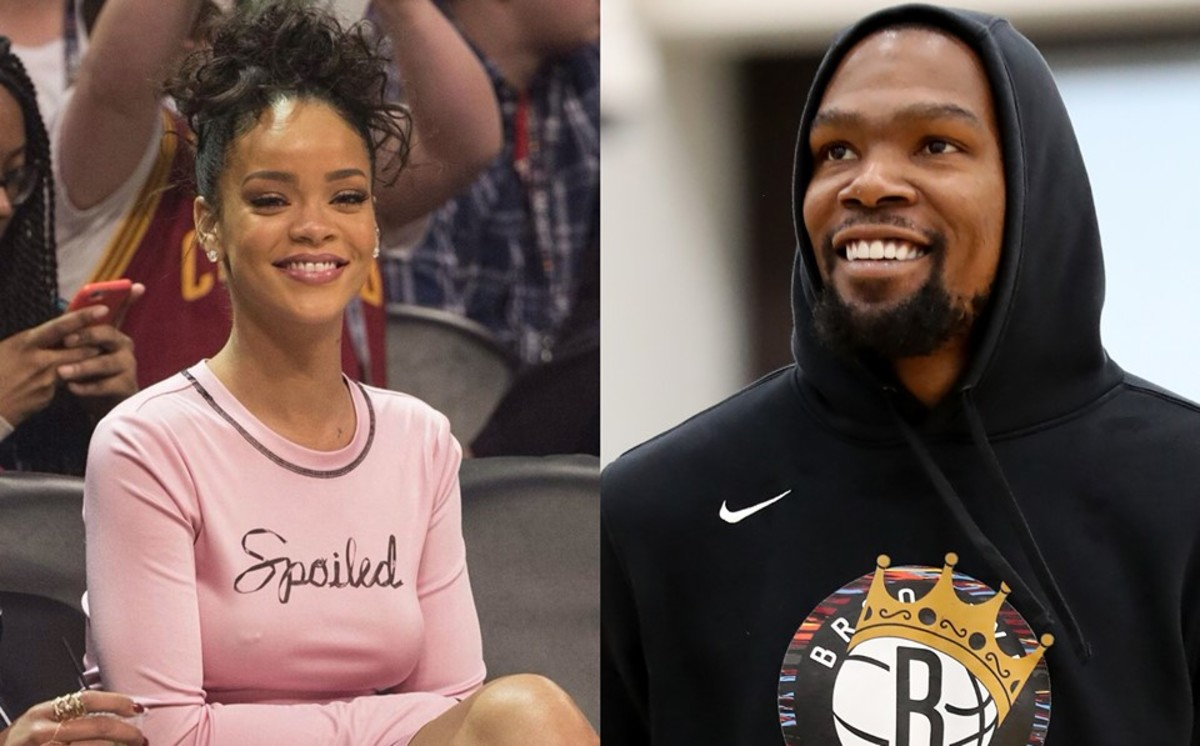 Rihanna And Kevin Durant Exchange Funny Shots On Instagram Live