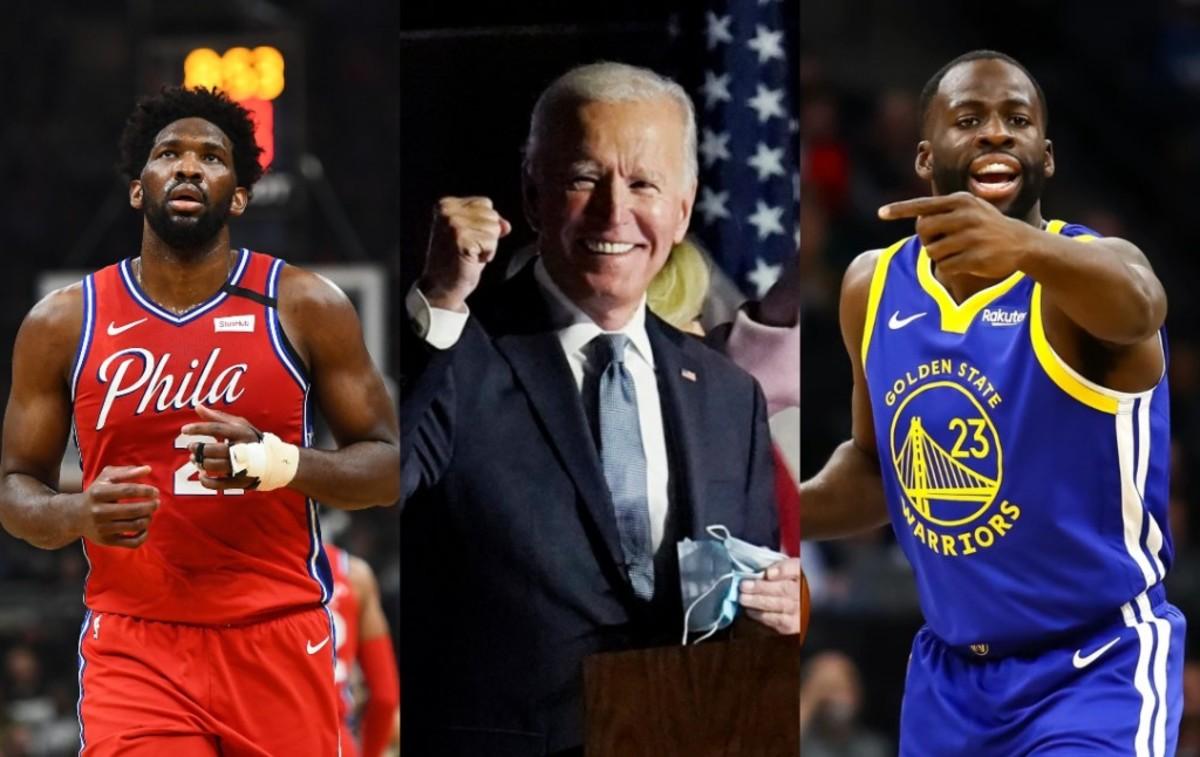 Joel Embiid, Trae Young, Draymond Green And More NBA Stars React To Joe Biden Winning Presidency