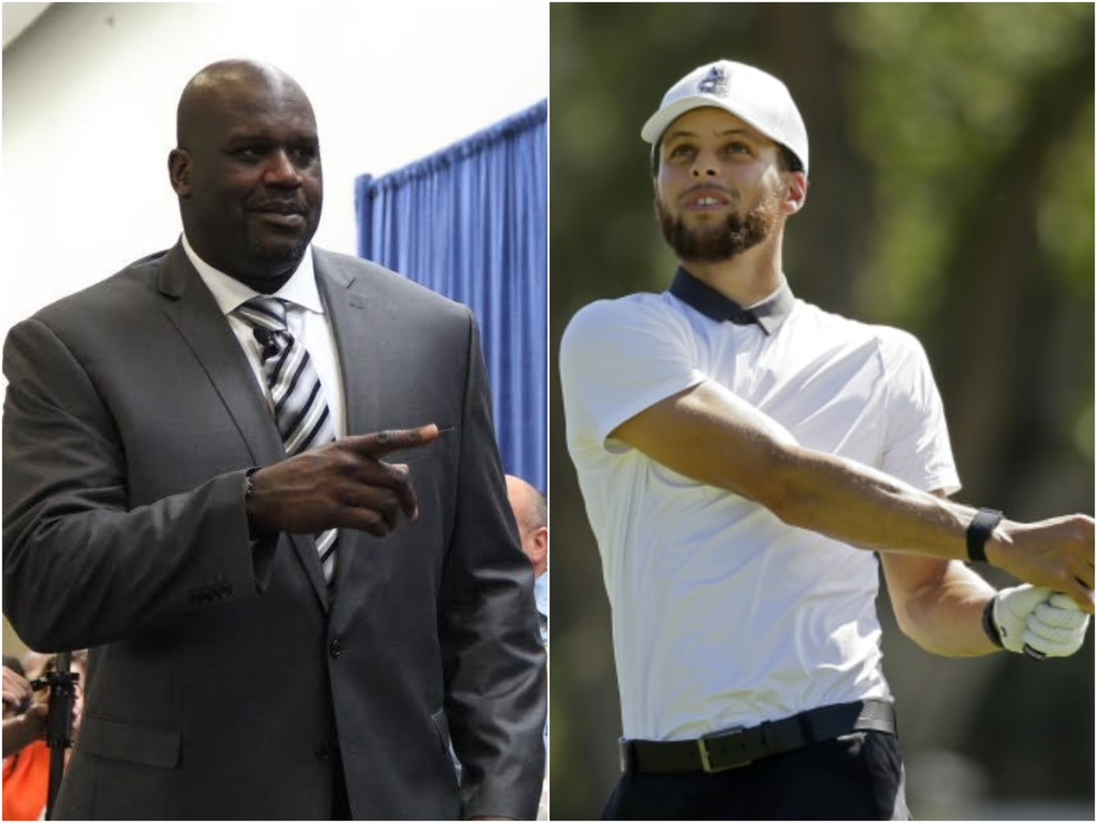 Shaq O'Neal Actually Bet $100,00 On Stephen Curry Against Charles Barkley In Celebrity Golf Match