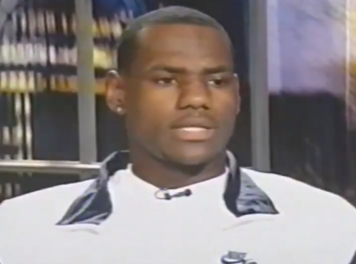 """LeBron James Was Under Big Pressure When He Was In High School: """"If You're Not A First Ballot Hall Of Famer, You're Gonna Be Considered A Bust."""""""