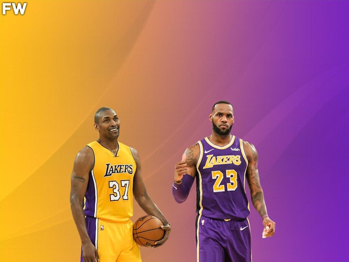 Ron Artest vs. LeBron James