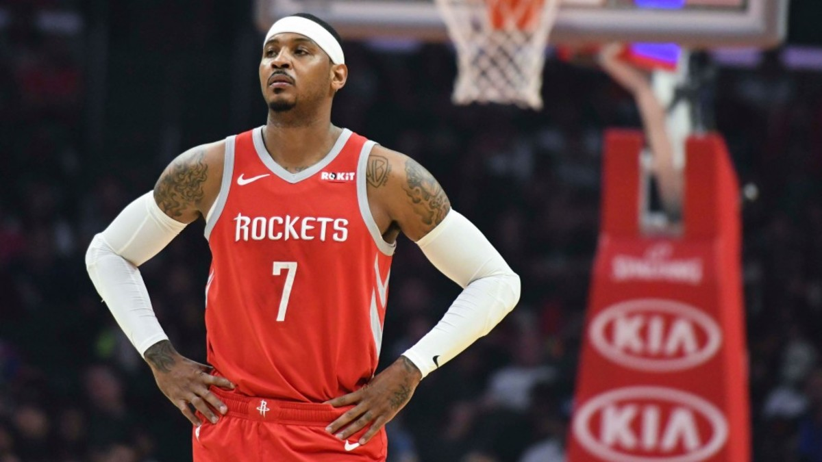 Max Kellerman On Melo Possibly Rejoining The Knicks: 'Go Be The Best Player In China!'