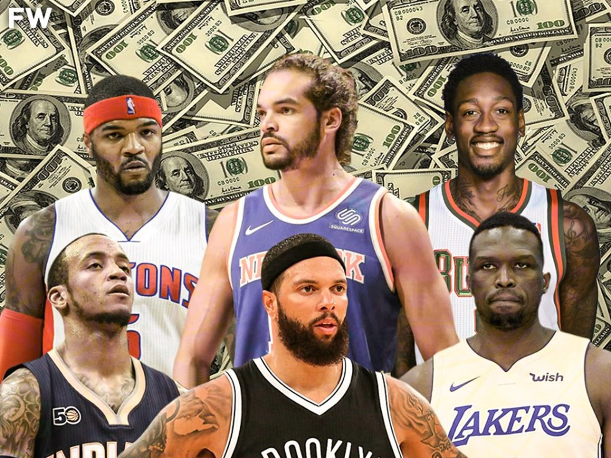 NBA Players That Are Still Getting Paid Despite Being Out Of The League