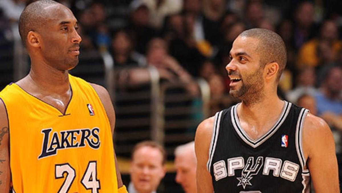 Kobe Bryant vs. Tony Parker