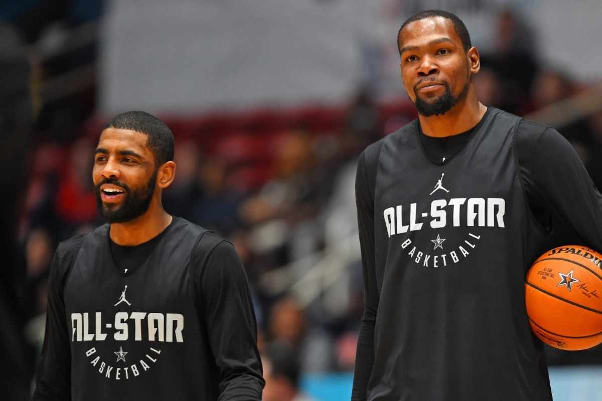 """Kevin Durant: """"Kyrie Irving Is Better Than Allen Iverson To Me."""""""