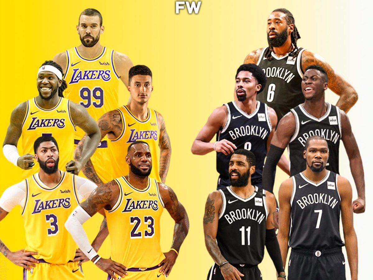 5 Reasons Why The Brooklyn Nets And Los Angeles Lakers Will Play In The 2021 NBA Finals