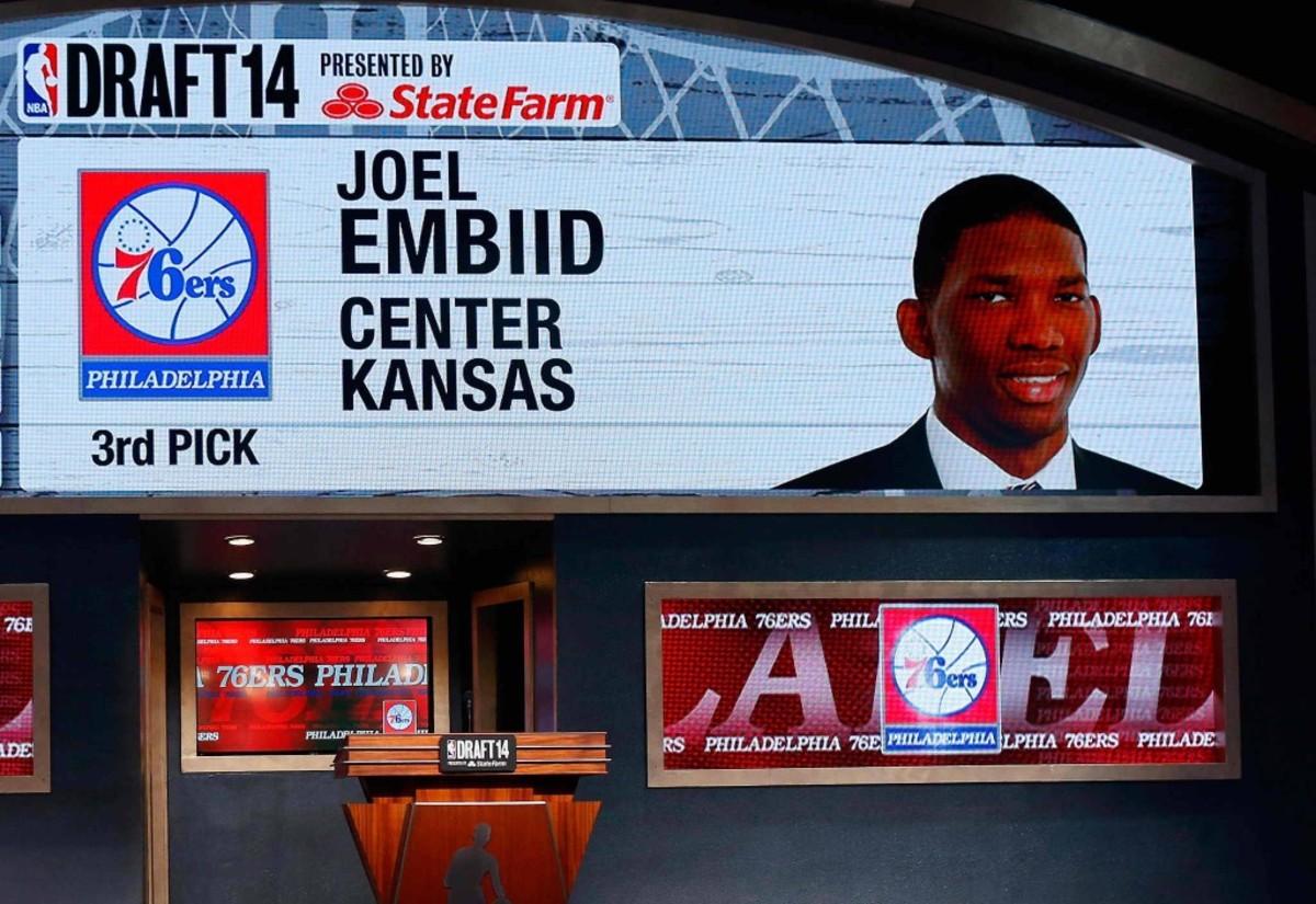 Joel Embiid Draft