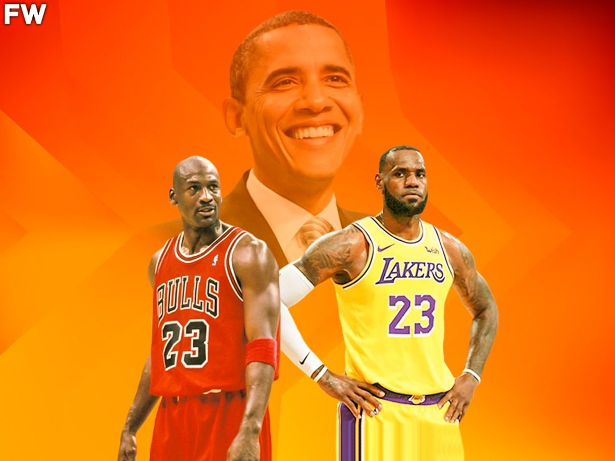 """Barack Obama On Who Is The GOAT Between LeBron James And Michael Jordan: """"LeBron James Is Not Quite There. We Don't Know How Many More Rings He Might Win."""""""