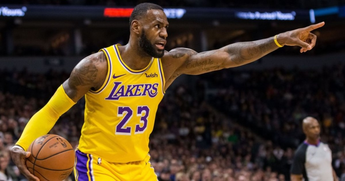 LeBron James Criticizes The Way That The Lakers Roster Was Assembled