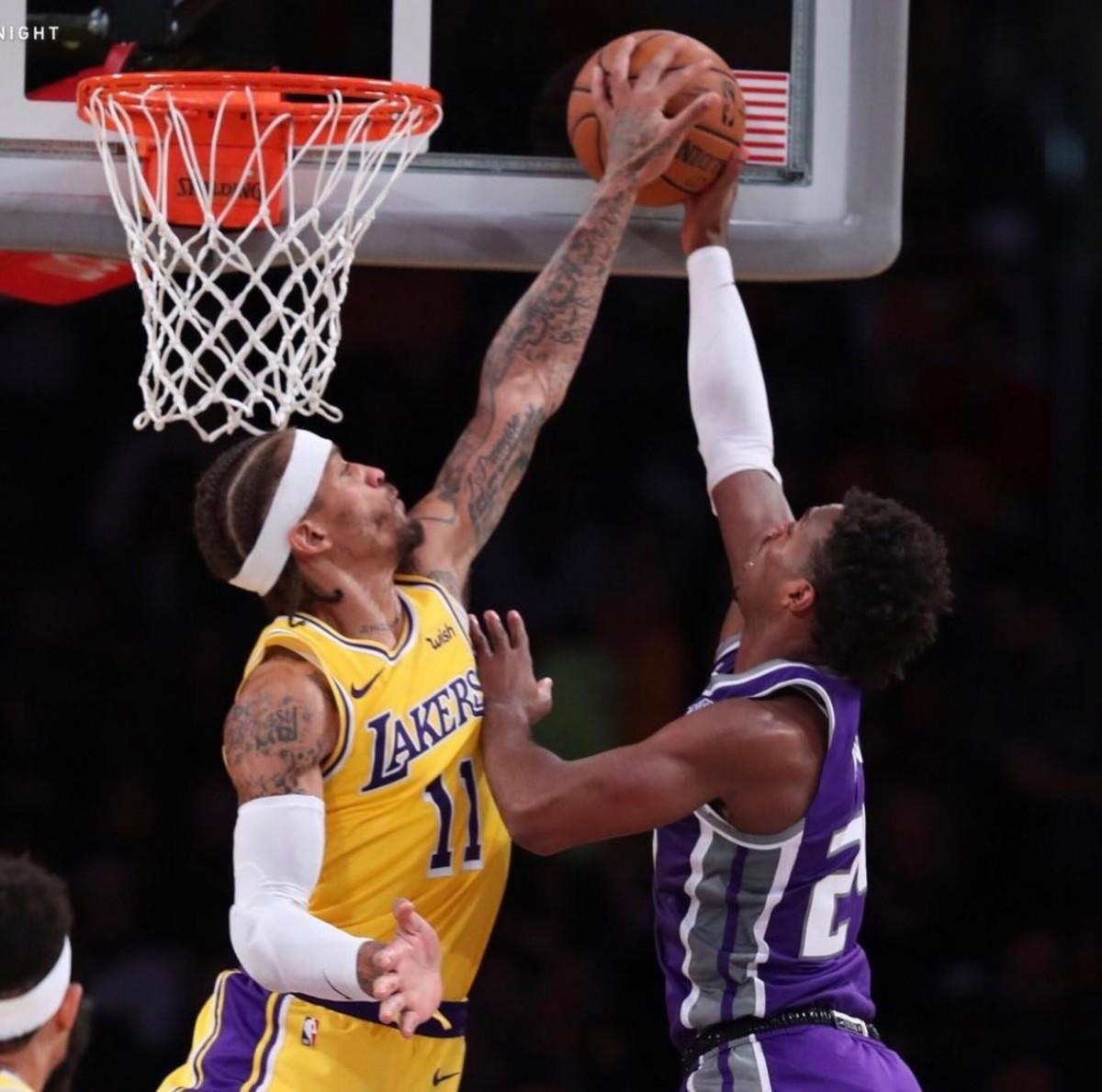 Michael Beasley NBA Lakers