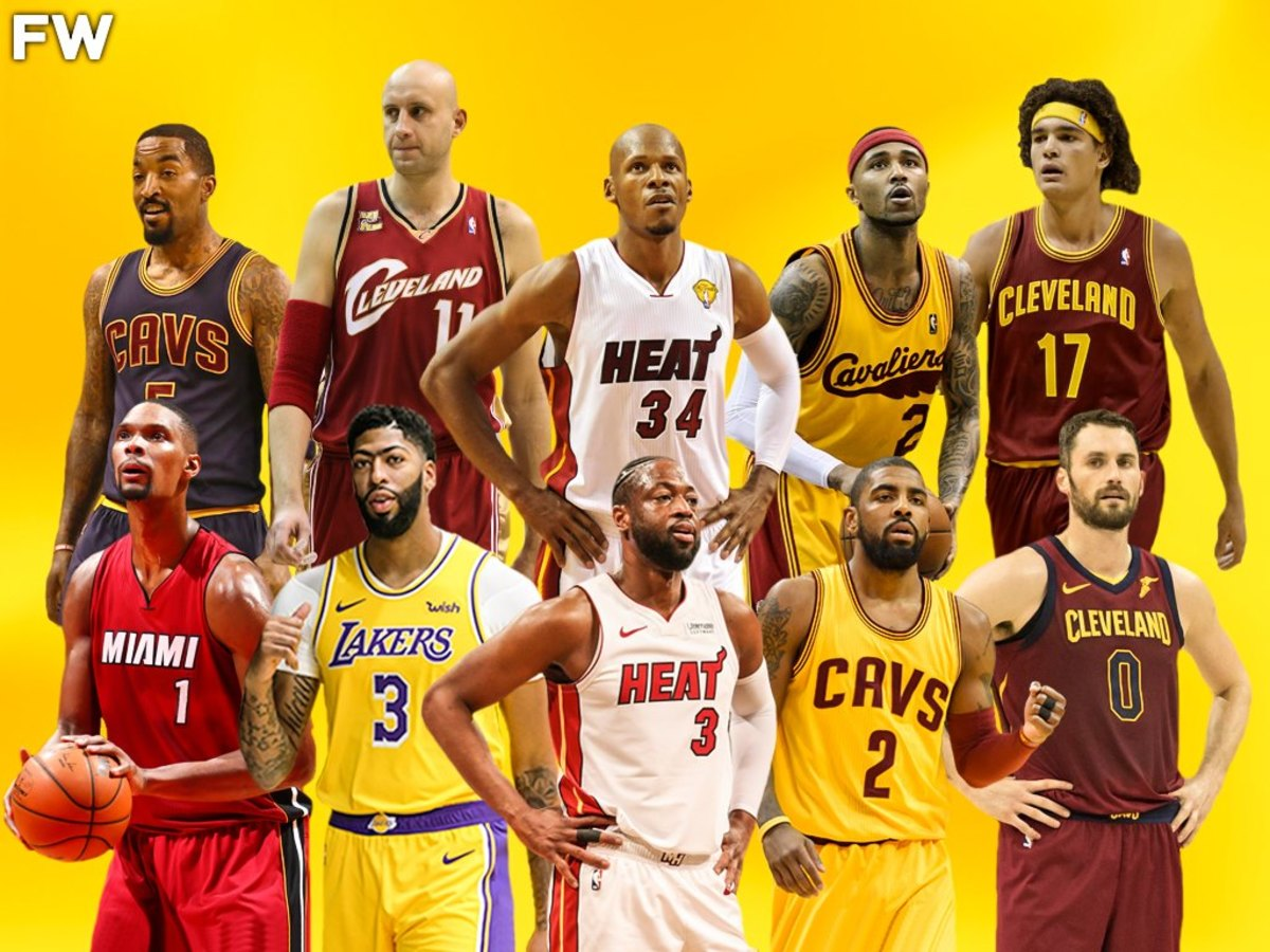 Ranking The 10 Greatest Teammates That LeBron James Has Ever Had In His Career