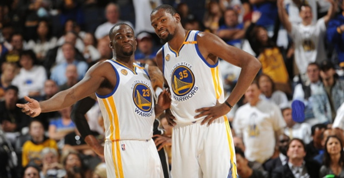 Draymond Green, Kevin Durant NBA 31312