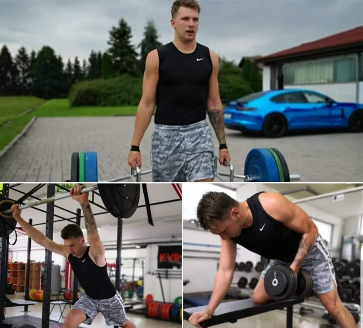 """Luke Doncic Fulfilling """"Six-Pack"""" Abs Promise In New Pictures"""