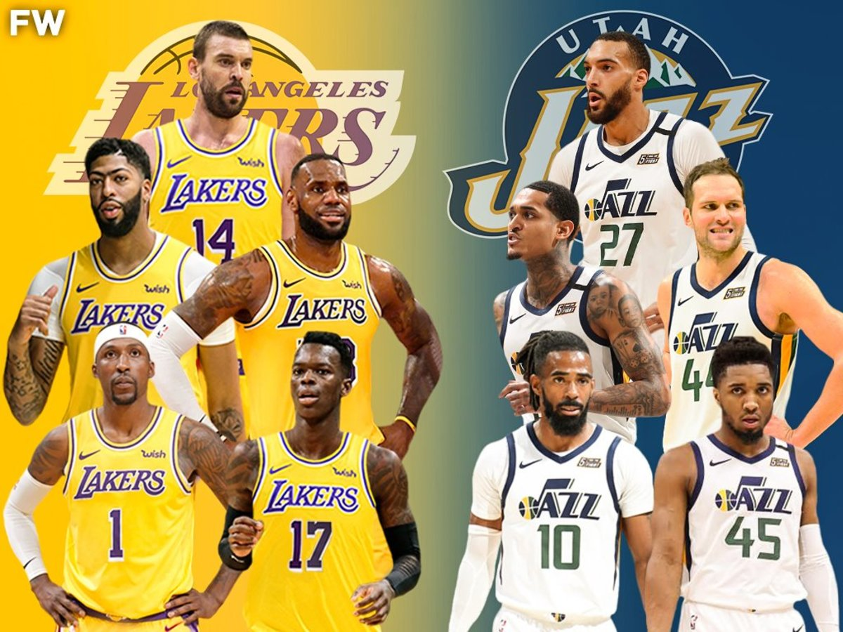 The Full Comparison: 2020-21 Los Angeles Lakers vs. 2020-21 Utah Jazz