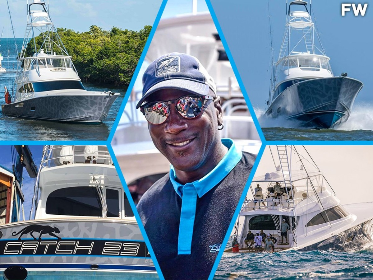 Michael Jordan And His 'Catch 23' Fishing Boat Won Their First Failfish Tournament: MJ Caught Two Sailfish